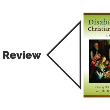 Book Review: Disability in the Christian Tradition