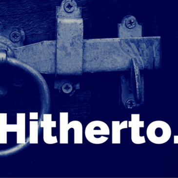 Hitherto: At The Gate of the Year