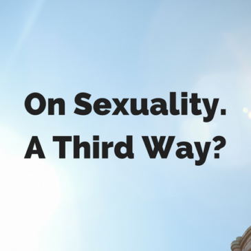 Sexuality: A Third Way?