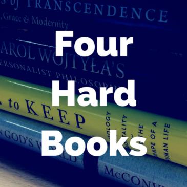 Four Hard Books