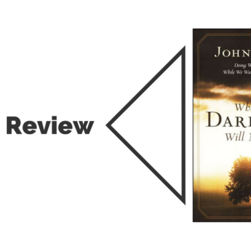 Book Review: When the Darkness Will Not Lift