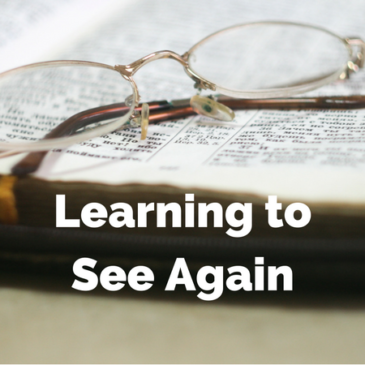 Learning to See Again