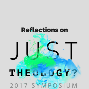 Just Theology? Reflections on a great 24 hours.