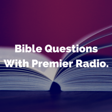 More Bible Questions with Premier