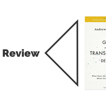 Book Review: God and the Transgender Debate