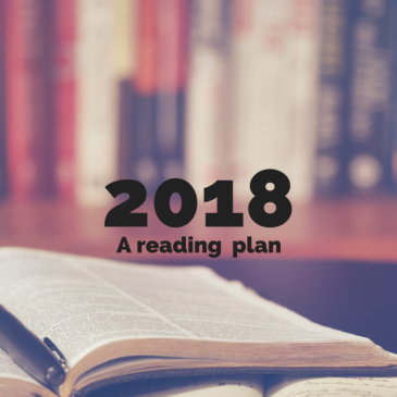 2018's Reading Plan