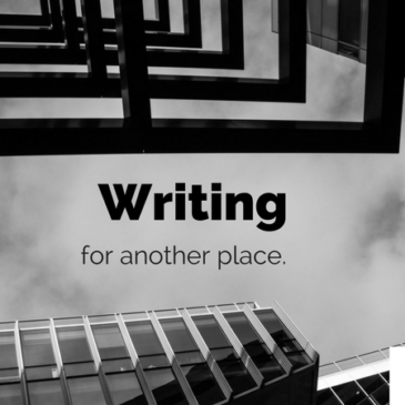 Writing for another place
