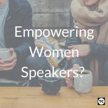 Empowering Women Speakers