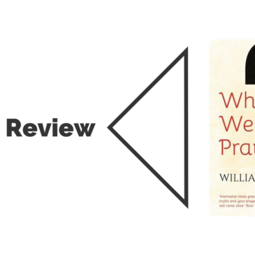 Book Review: Why We Pray