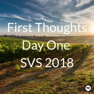 #SVS2018 Day 1 – A Brief Reflection