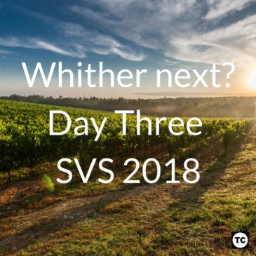 #SVS2018 Day 3 – Whither next?