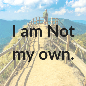 I am Not My Own