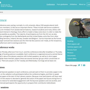 New SST Website