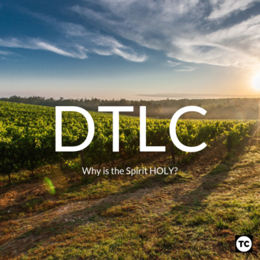 DTLC: Why is the Spirit HOLY?