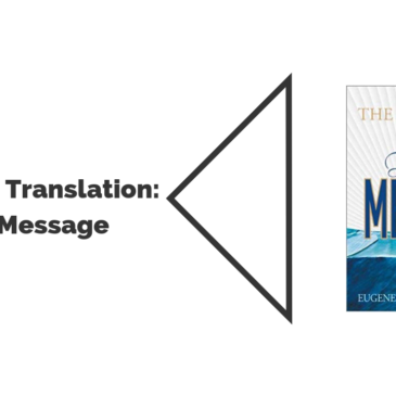 What Message are you reading?