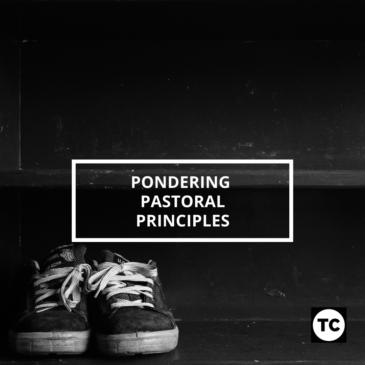 Pondering Pastoral Principles