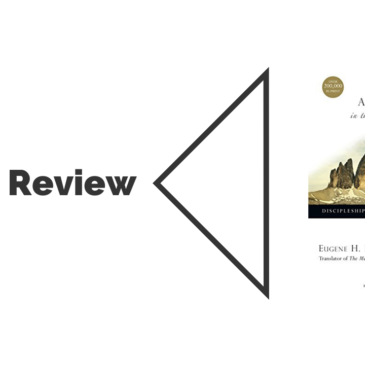 Book Review: A Long Obedience in the Same Direction