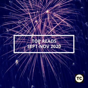 Top Reads: September to November 2020