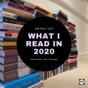What I read in 2020 (the full list)